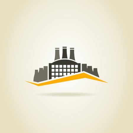 Fabrikgebäude in der Branche Standard-Bild - 28244767