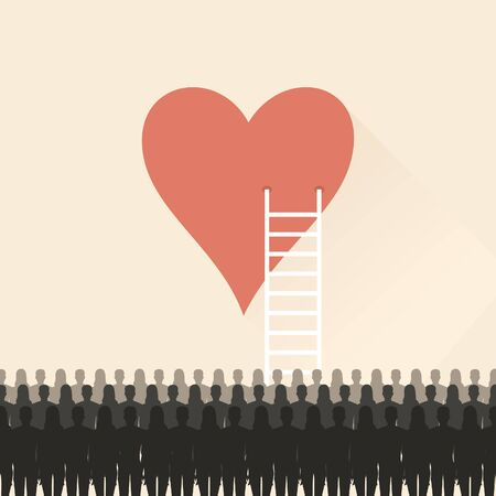 grief: Stairs to the heart.