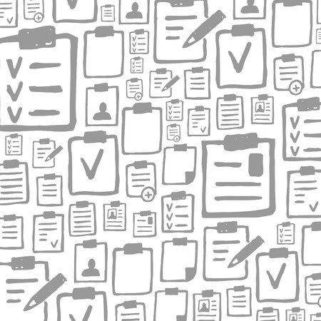Background made of files. A vector illustration