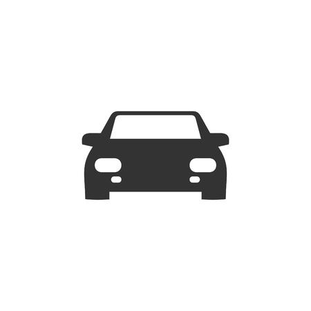 Black car icon. Vector illustration