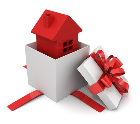 private insurance: Gift house