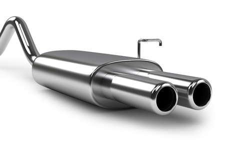 car exhaust silencer photo