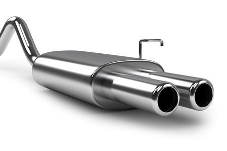 manifold: car exhaust silencer