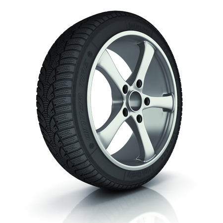Automobile winter tire  photo