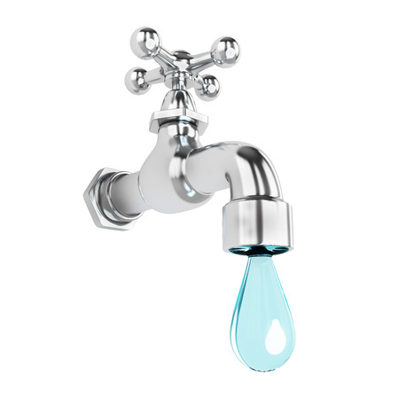 cleanness: Dripping rubinetto con goccia