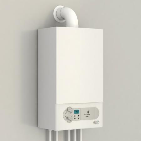 furnace: White gas boiler