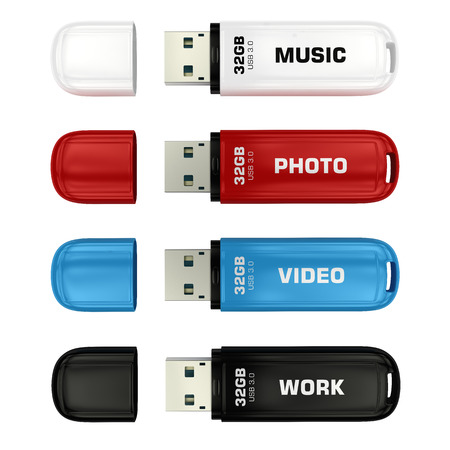 USB flash drives photo