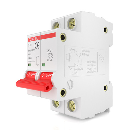 Automatic electricity switch Imagens