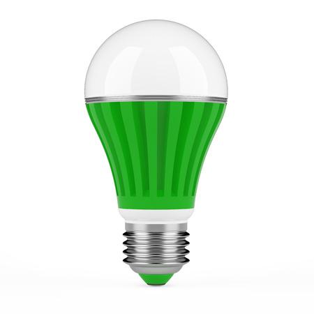 led light bulb: LED lamp isolated on white background