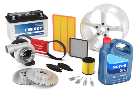 Set of auto parts photo