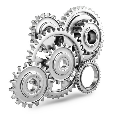mechanic: Cog gears mechanism concept  3d
