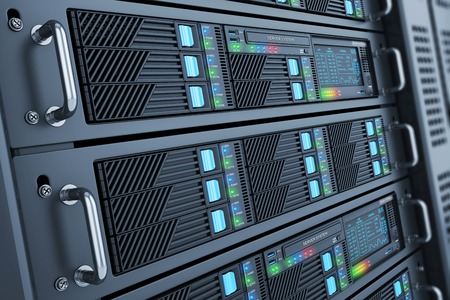 Server data center closeup panel room Stock Photo - 42093858