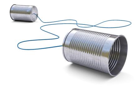 puszek telefon na białym tle 3d Zdjęcie Seryjne
