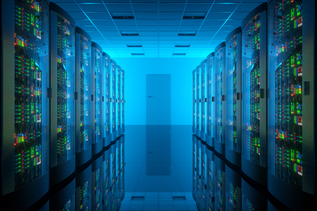 cyber: Server romm in data center