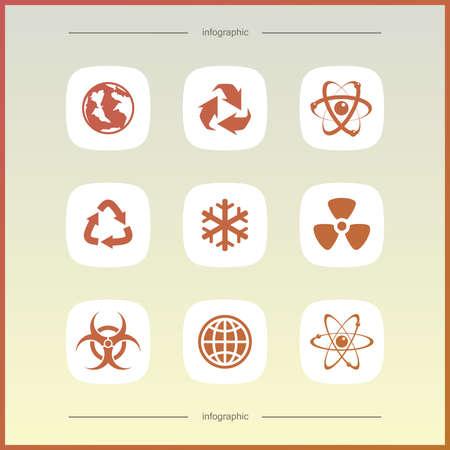High quality icon set. Economics and finance.