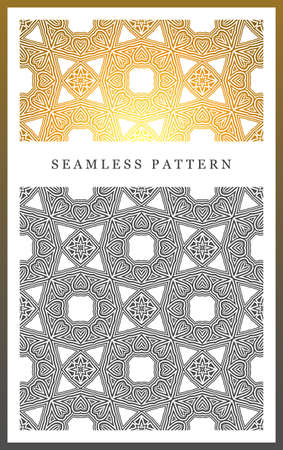 sophisticate: Original seamless pattern, high quality. Rhythmic pattern, based on symmetry. Multilevel ornament consisting of large and medium-sized elements, and textures.