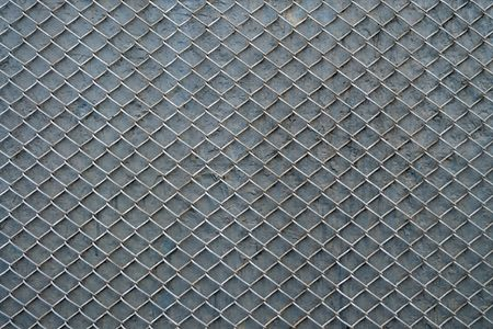 durability: Metal mesh is used for multiple purposes.In the construction, agriculture and other areas. Stock Photo