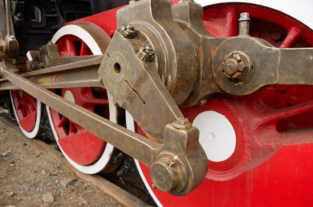 thrust: traction on the wheels of the locomotive.