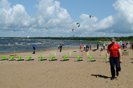 hosted: In July 2015 on the Gulf of Finland in Sestroretsk (Russia) hosted the event youth for various sports. Editorial