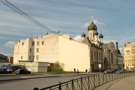 dwelling house: This complex of buildings, combining the five-domed Church in the Moscow style with a belfry and a dwelling house.