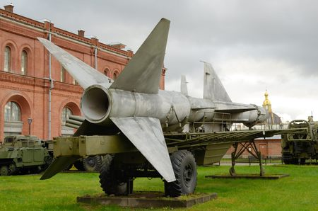 exhibiting: 29.10.2016.Russia.Saint-Petersburg.The Museum features equipment and artillery of different times.