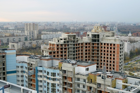 urban housing: The construction of urban housing assumes a larger cash funding.
