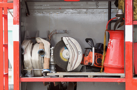 Necessary tools firefighters.They are necessary when working in emergency situations.