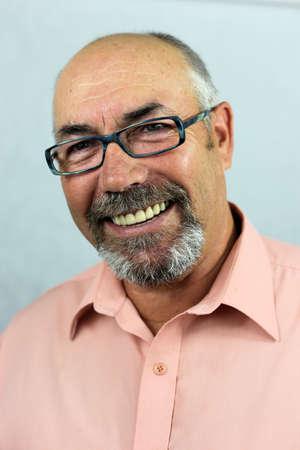 bärtiger mann: b�rtigen Mann mit Brille Lizenzfreie Bilder