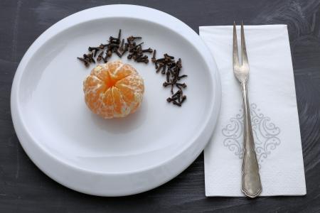 orange with cloves - Christmas fragrances Zdjęcie Seryjne