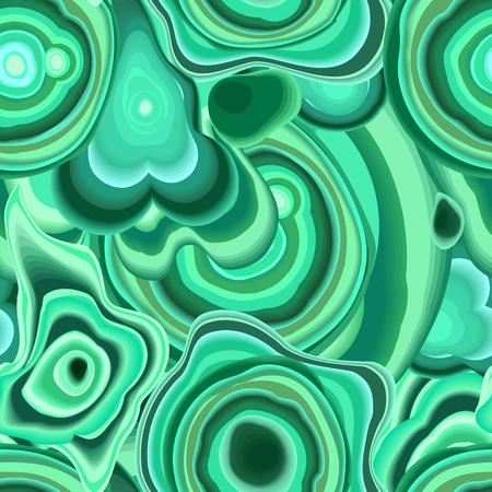 Malachiet naadloze patroon. sierlijke marmeren textuur. vector eps 8
