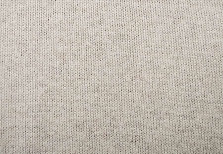 grey background texture: Woven cotton fabric textured background in beige color Stock Photo