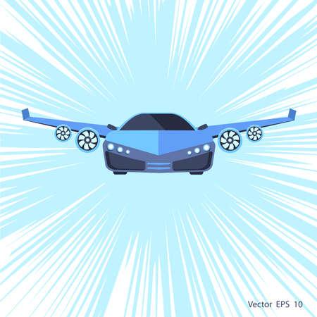 Flying car .Super high speed machine