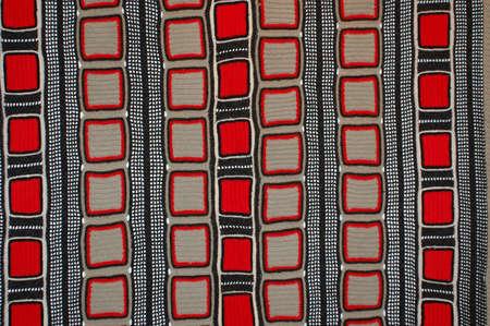 Tiled Handarbeit texturierten textilen