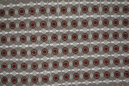 Tiled hand work textured textile