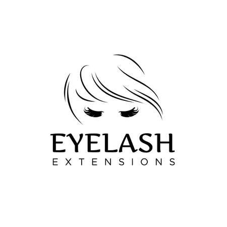 Eyelash extension logo.