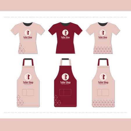 Branding design for tailor shop.