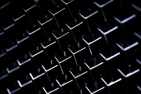 Background black car radiator grill. Zdjęcie Seryjne