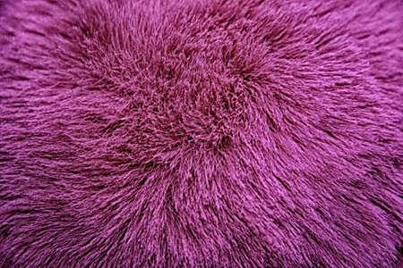 Pink wool macro