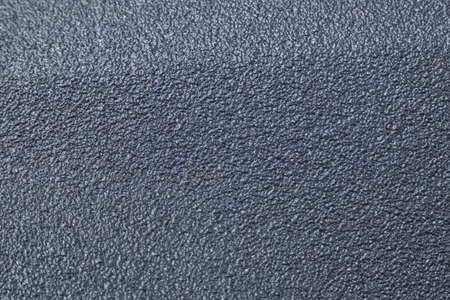 Background of rough paint with a gray texture Banco de Imagens