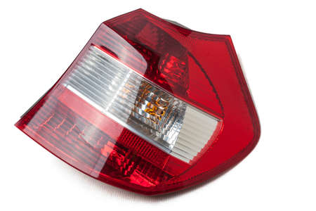 Car tail lights that are separated from the background Car tail lights that are separated from the background tail lamp car isolated stock pictures Stok Fotoğraf