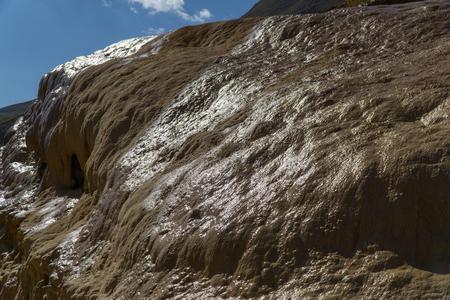 Sulphur Waters near Jvari Pass. Mineral Springs, Mtskheta-Mtianeti, Georgia