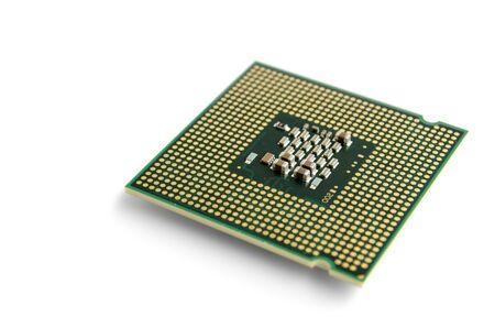 multicore: multi-core processor on a white background pad up
