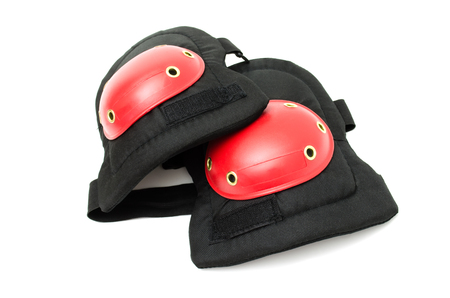 knee pads, protective accessories for the feet Stock Photo