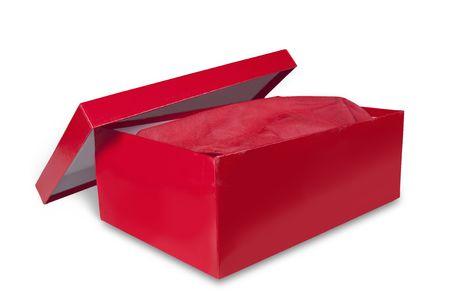 shoebox isolated on white