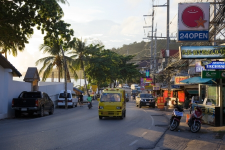 Street in Patong. Kalim Beach.Thailand. Editorial only. Stock Photo - 14521248