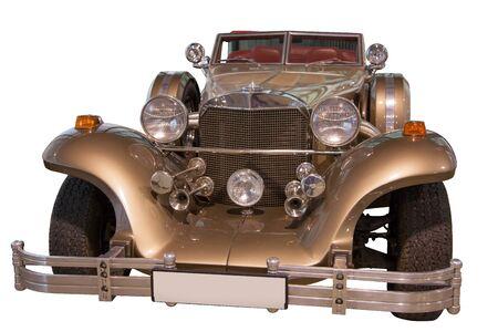xx century: Car beginning of XX century  Isolated on white