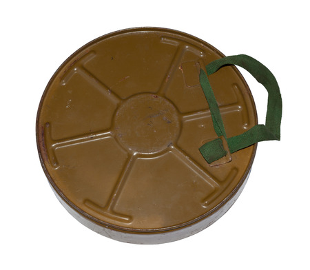 Antitank mine isolated  photo