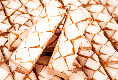 delicious Sweet cookies. Abstract dessert background