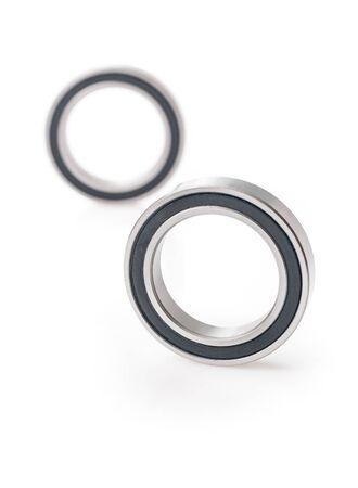 ball bearings isolated Stockfoto
