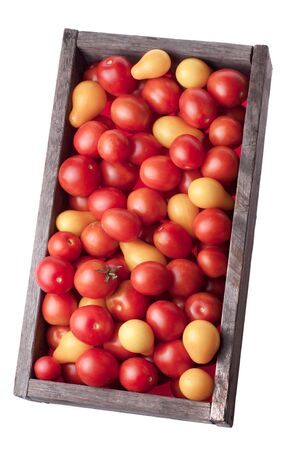 tomato on a white background Фото со стока